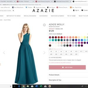 AZAZIE MOLLY Bridesmaid Dresses